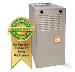 Preferred™ Series Plus 80x™ Gas Furnace