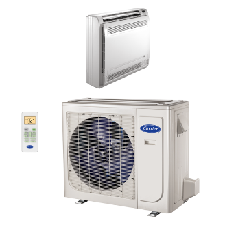 Performance™ Residential Ductless Floor Console Heat Pump System  38MAQ/40MBF