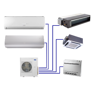 Infinity® Residential Ductless Multi-Zone Heat Pump System  38GJQ/40GJ